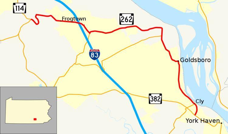 Pennsylvania Route 262