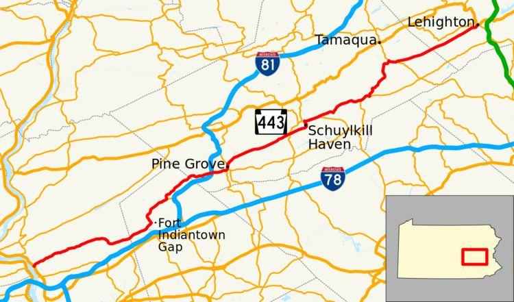 Pennsylvania Route 443