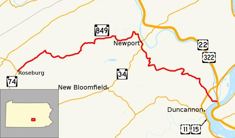 Pennsylvania Route 849