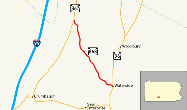 Pennsylvania Route 868