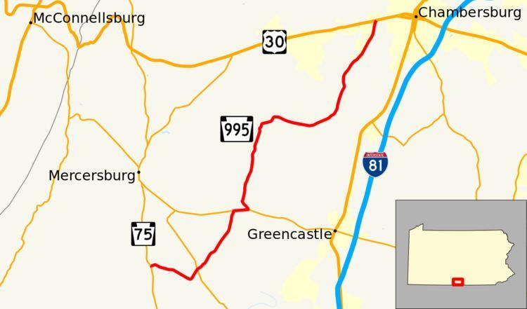 Pennsylvania Route 995