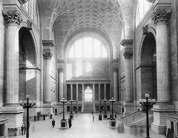 Pennsylvania Station (1910–1963) Afflictorcom Images Of The Original Penn Station 19101963
