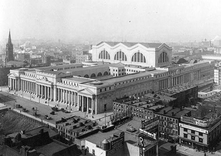 Pennsylvania Station (1910–1963) Pennsylvania Station 19101963