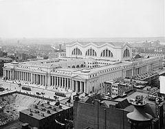Pennsylvania Station (1910–1963) httpsuploadwikimediaorgwikipediacommonsthu