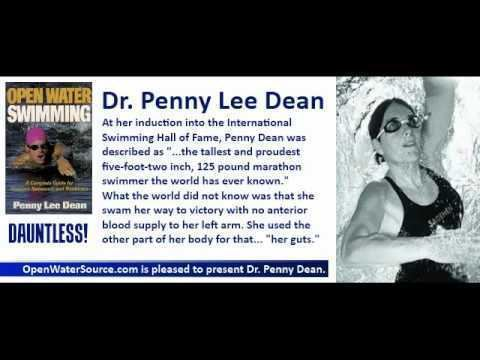 Penny Lee Dean Dr Penny Lee Dean with Steven Munatones on Open Water Swimming