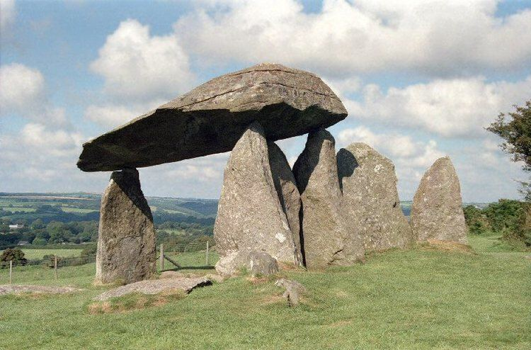 Pentre Ifan Pentre Ifan Chambered Long Barrow Portal Dolmen South of Nevern