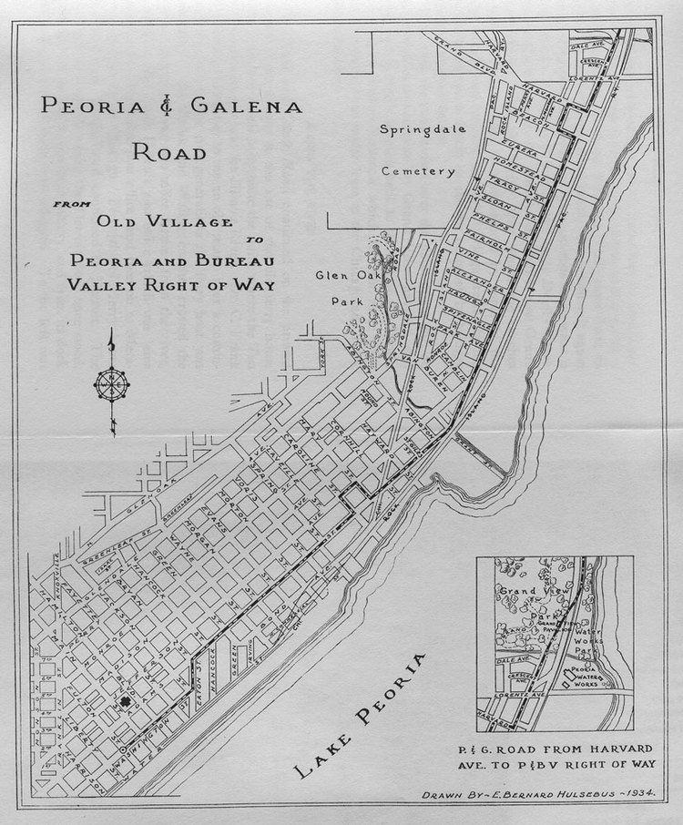 Peoria, Illinois in the past, History of Peoria, Illinois