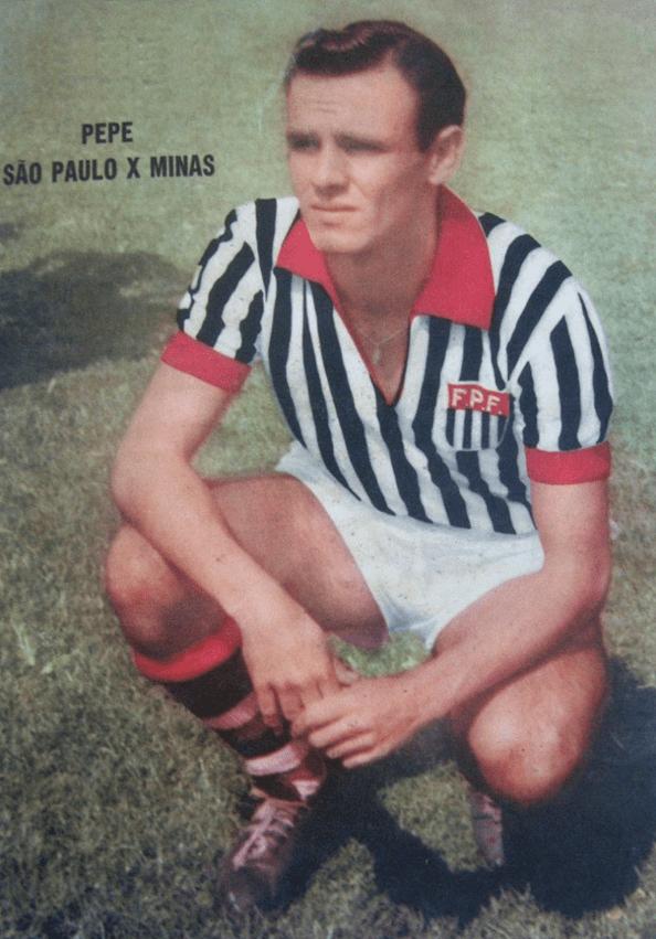 Pepe (footballer, born 1935) jos macia pepe A enciclopdia da Seleo Brasileira em