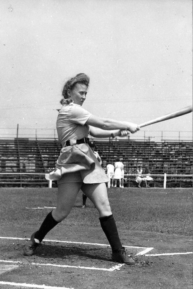 all american girls baseball league - 620×927