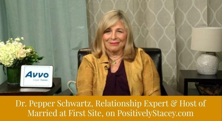 Pepper Schwartz Interview with Dr Pepper Schwartz LoveintheUS Positively Stacey