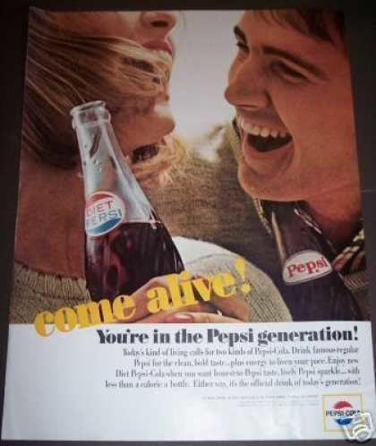 Pepsi Generation Vintage Drinks Advertisements of the 1960s Page 34