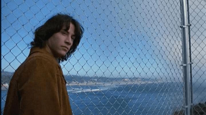 Permanent Record (film) movie scenes permanent record 1988 teen movie keanu reeves screencap