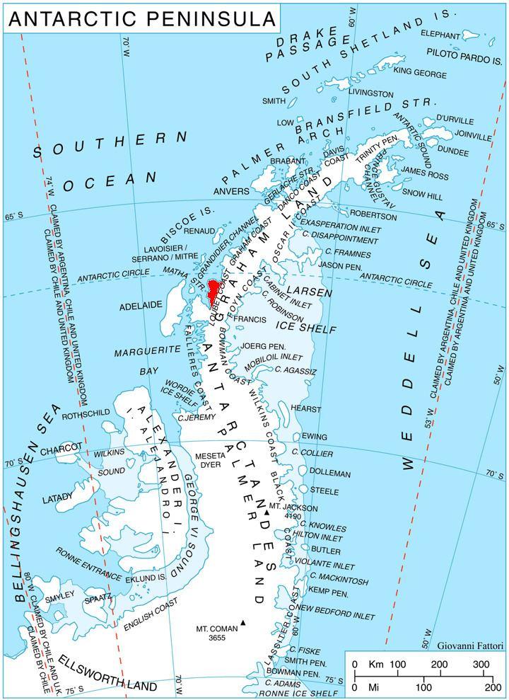 Pernik Peninsula