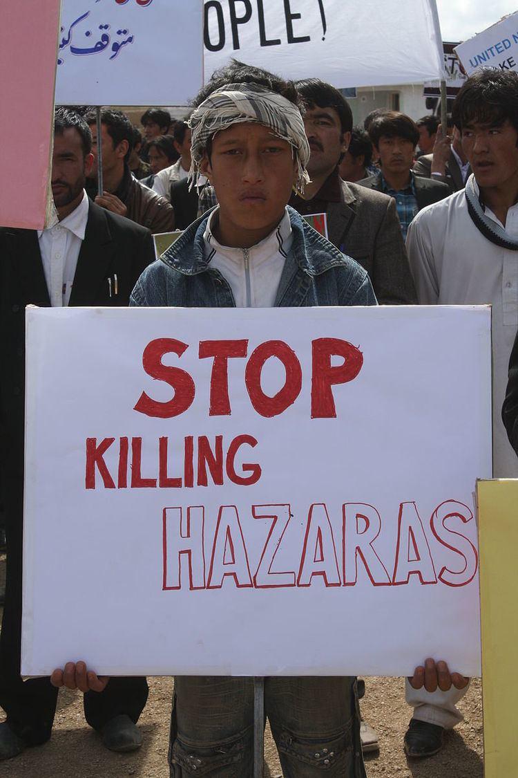Persecution of Hazara people in Quetta