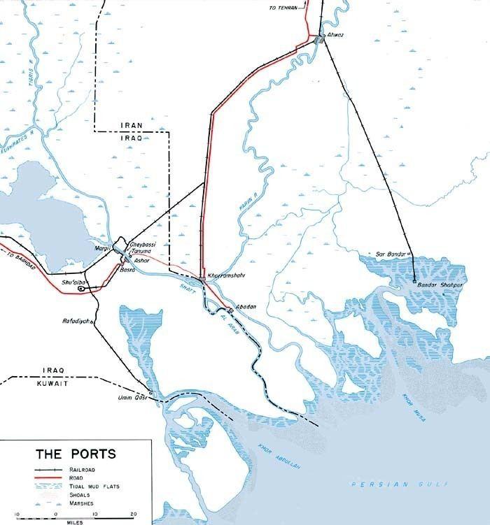 Persian Corridor The Persian Corridor and Aid to Russia