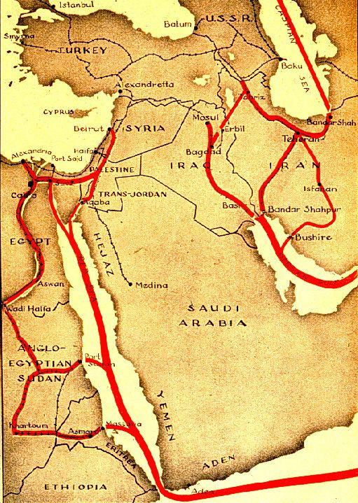 Persian Corridor World War II Timeline 1941
