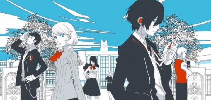 Persona 3 The Movie: No. 1, Spring of Birth movie scenes Persona 3 The Movie 1 Key Art