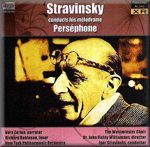 Perséphone (Stravinsky) STRAVINSKY Persephone Pristine PACO061 DC Classical Music