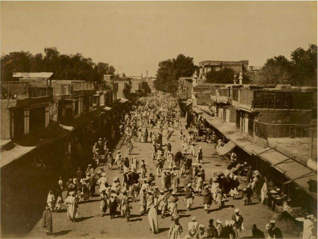 Peshawar in the past, History of Peshawar