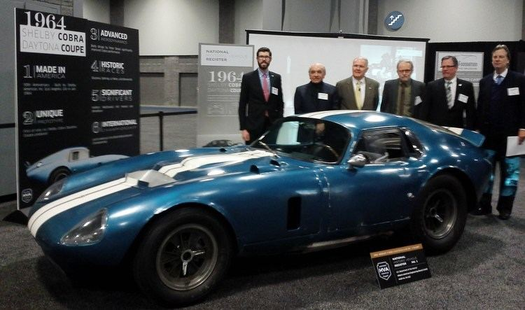 Pete Brock Shelby Daytona Cobra Coupe and Interview with Designer