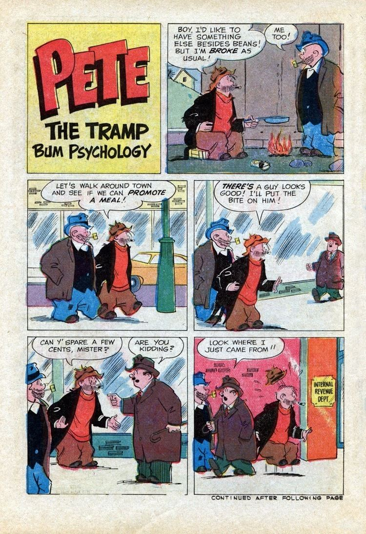 Pete the Tramp FourColor Shadows Pete the TrampPopeye Comics1969