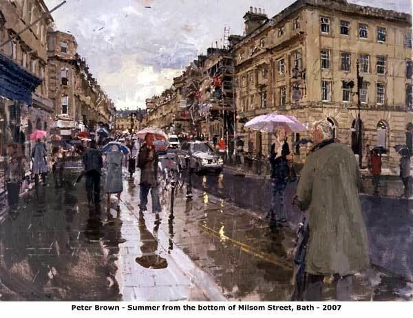 Peter Brown (British artist) Bath39s Victoria Art Gallery shows New Paintings by Peter
