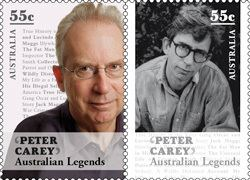 Peter Carey (novelist) life Peter Carey writer Booker Award winning novelist