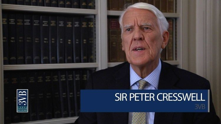 Peter Cresswell (judge) Sir Peter Cresswell 3VB Arbitration YouTube