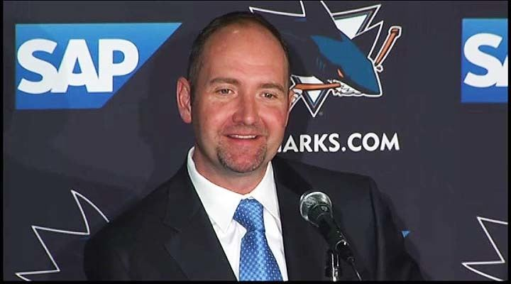 Peter DeBoer Sharks officially announce Peter DeBoer hired as new coach