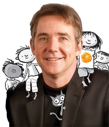 Peter H. Reynolds Peter H Reynolds selected for Global Read Aloud Author Study