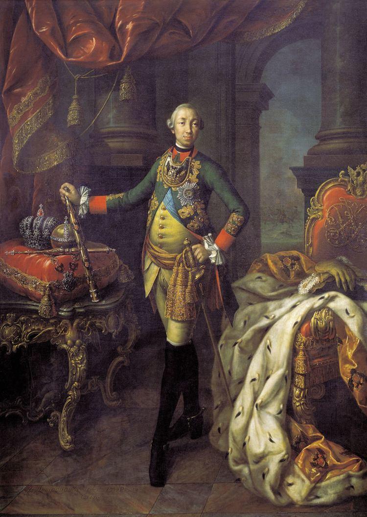 Peter III of Russia Portrait of Tsar Peter III 172862 Aleksey Antropov