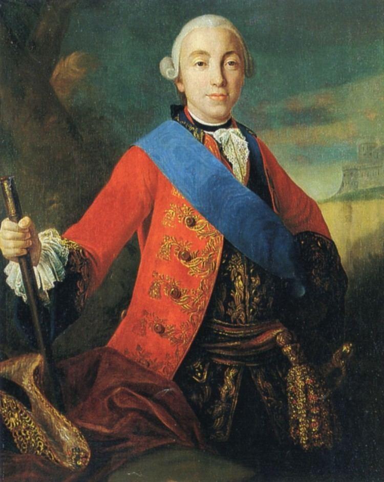 Peter III of Russia FileTsar Peter III circa 1845 Pietro Antonio RotariJPG