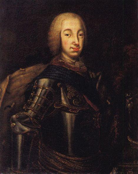 Peter III of Russia Portrait of Grand Duke Peter Fedotovich later Peter III