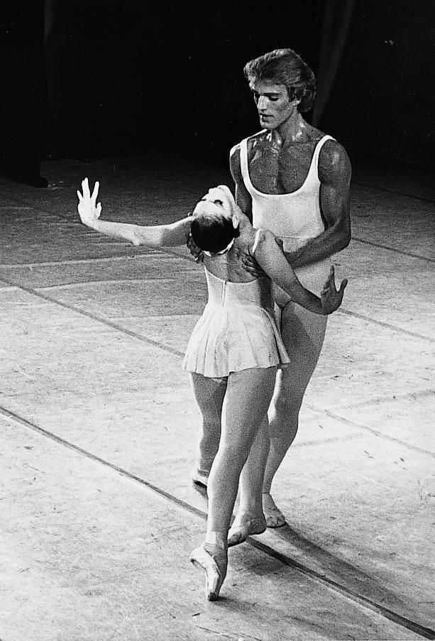 Peter Martins Suzanne Farrell Muse amp Peter Martins Apollo with New