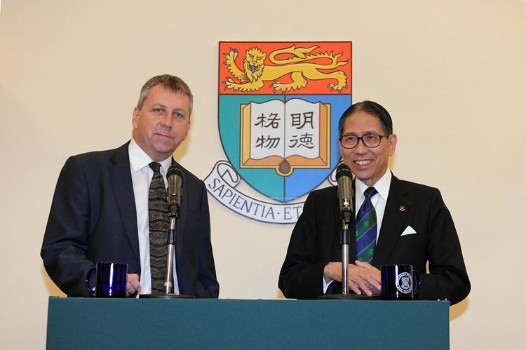 Peter Mathieson (nephrologist) The University of Hong Kong appoints Professor Peter William