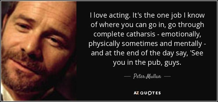 Peter Mullan TOP 25 QUOTES BY PETER MULLAN AZ Quotes