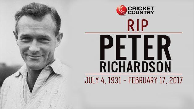 Peter Richardson (cricketer) Peter Richardson Gutsy batsman and prankster who enjoyed a dream