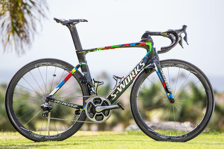 Peter Sagan Pro Bike Gallery Peter Sagans world champion Venge VeloNewscom