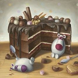 Peter Smith (painter) Peter Smith artist Let Them Eat Cake Artmarket Contemporary Art