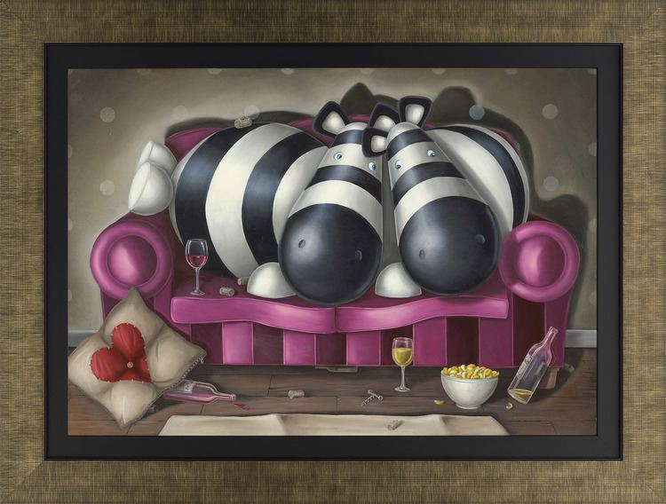 Peter Smith (painter) Wine Club 2016 The Peter Smith Collection Art Castle Galleries