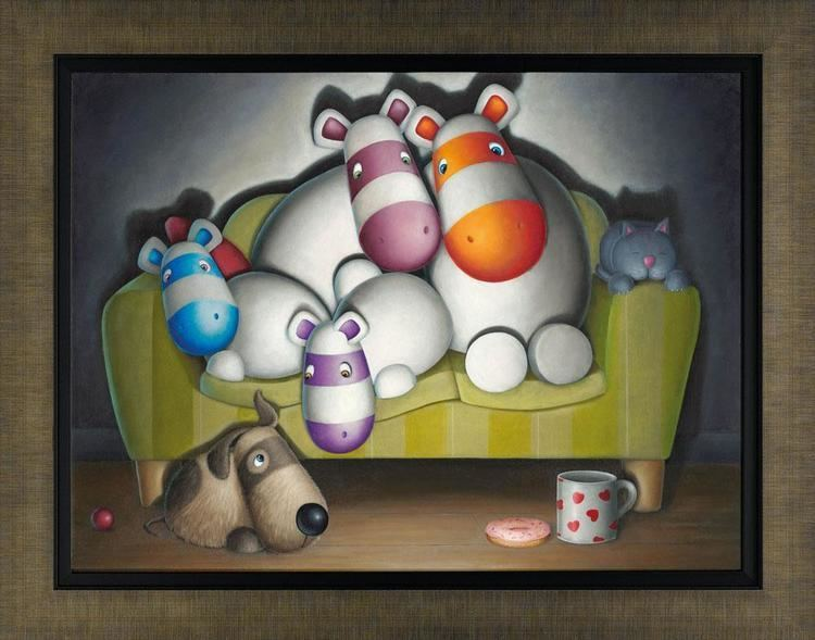 Peter Smith (painter) Home Comforts 2012 The Peter Smith Collection Art Castle