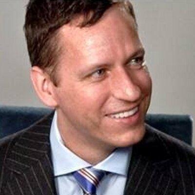 Peter Thiel Peter Thiel peterthiel Twitter