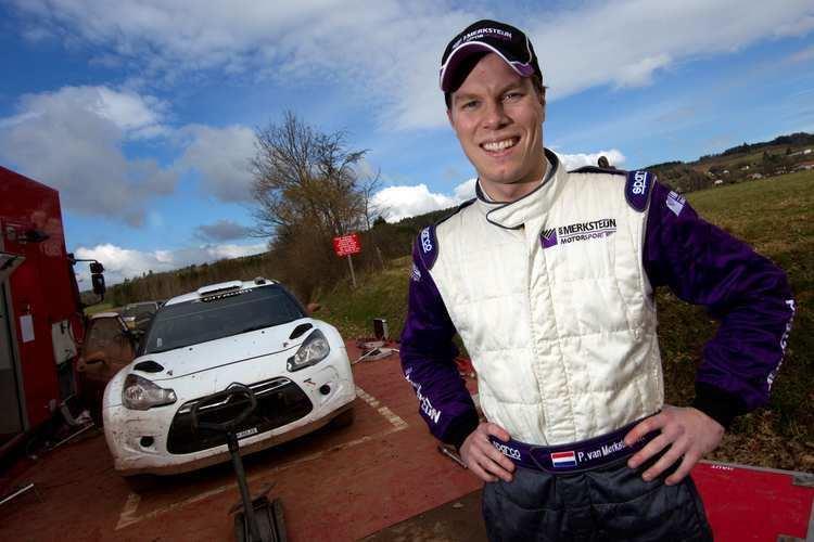 Peter van Merksteijn Jr. WRC Successful First Test For Peter Van Merksteijn jr