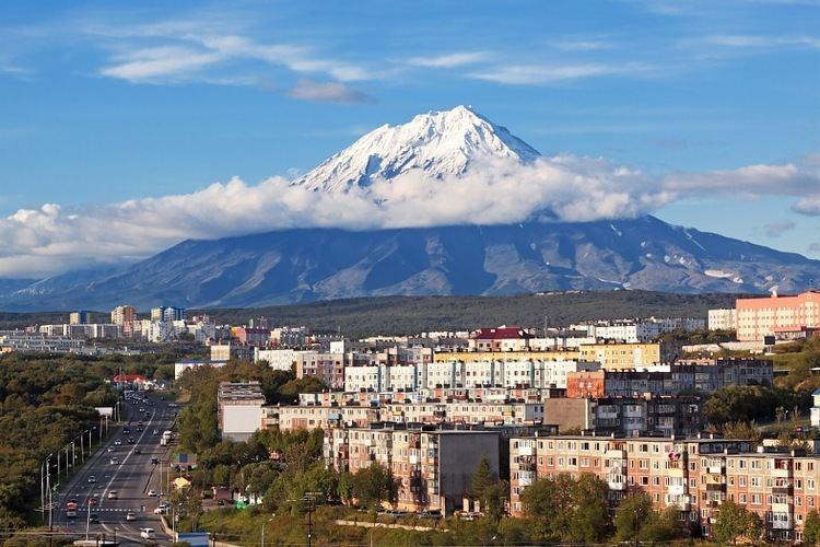 Petropavlovsk Kamchatsky Beautiful Landscapes of Petropavlovsk Kamchatsky