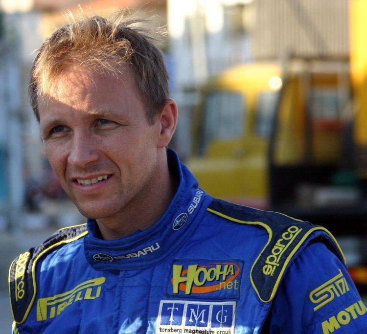 Petter Solberg World Rally and Rallycross champion Petter Solberg to