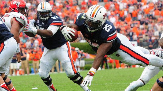 Peyton Barber Peyton Barber comes up big for Auburn again AuburnTigers