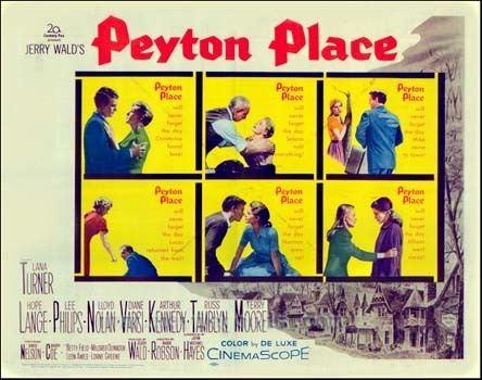 Peyton Place (film) Peyton Place Soundtrack details SoundtrackCollectorcom