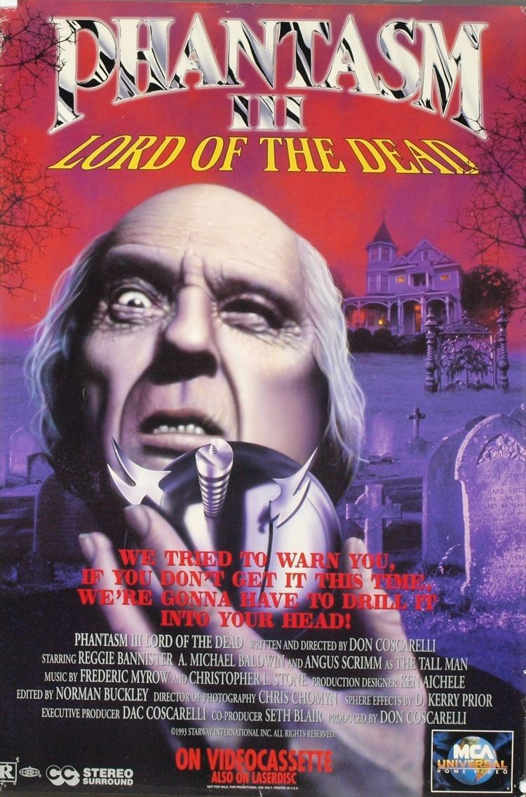 Phantasm III: Lord of the Dead Episode 7 Phantasm III Lord of the Dead Reel 90