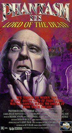 Phantasm III: Lord of the Dead Amazoncom Phantasm 3Lord of the Dead VHS Reggie Bannister A