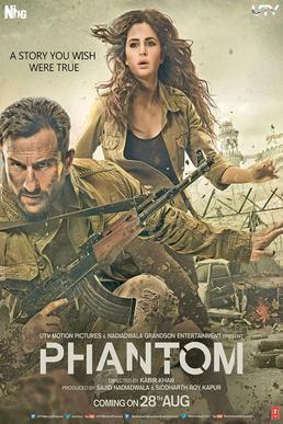 Phantom (2015 film) movie poster